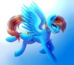 Commission - Blaze Mizu (+speedpaint)