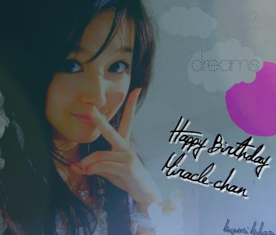 Kusumi Koharu 18th Birthday by ookihitomi