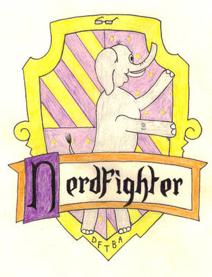 Nerdfighter House Crest by The-Jedi-Ninja