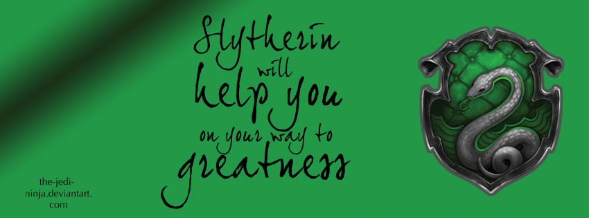 Timeline Cover: Slytherin by The-Jedi-Ninja on DeviantArt