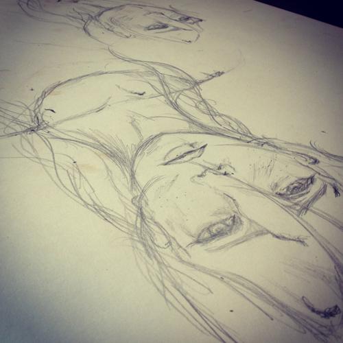Drawing day 2 by hannah-mudd