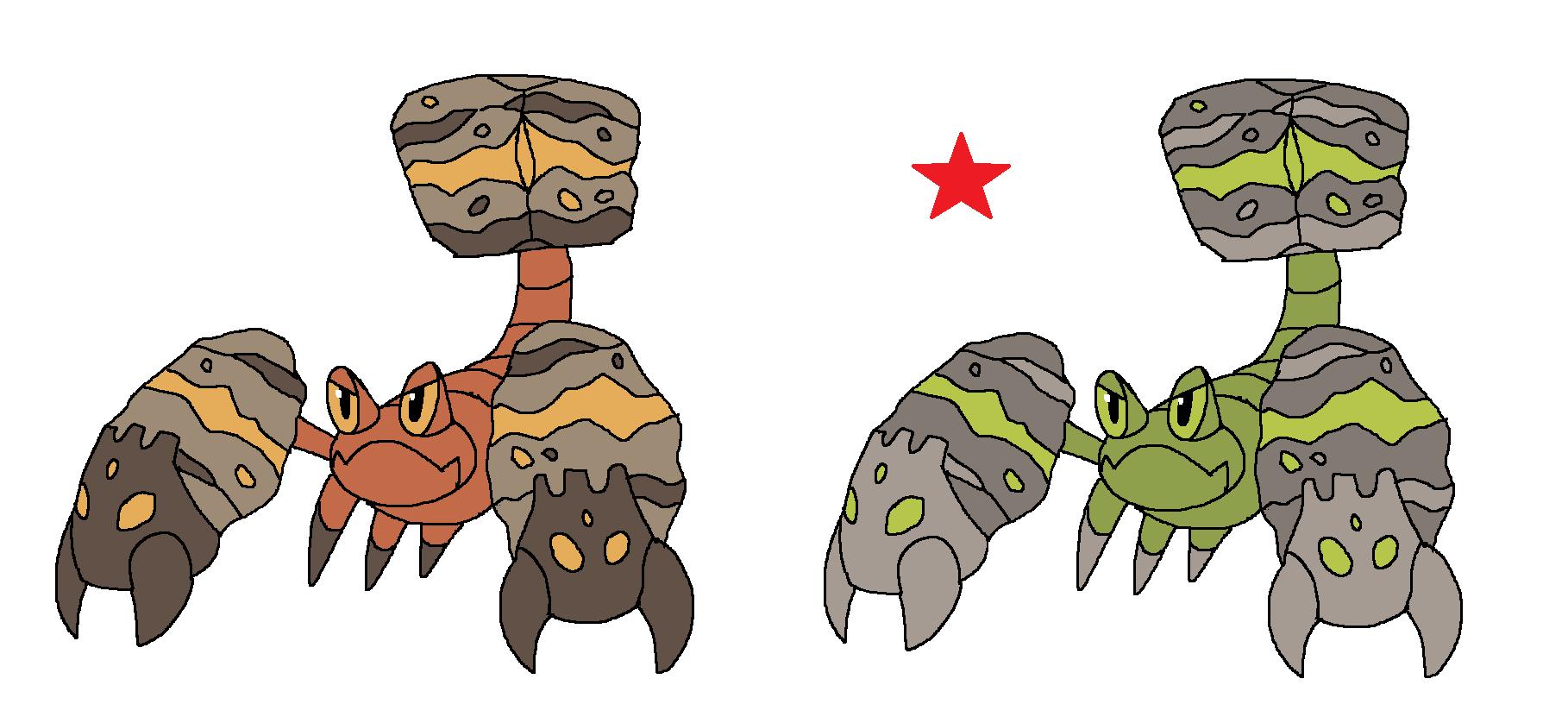Pokemon Crustle Evolution Mega Crustle by JWNutz...