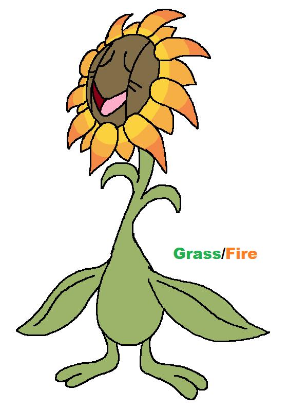 Alola form sunflora by JWNutz