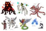 Creature doodles: monster manual 2