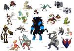 Creature doodles: The Tale of Zorldo