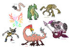 Creature doodles: monster manual 3