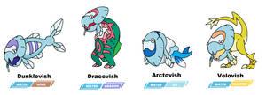 Galar fossil combos: vish