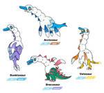 Galar fossil combos - saur v2