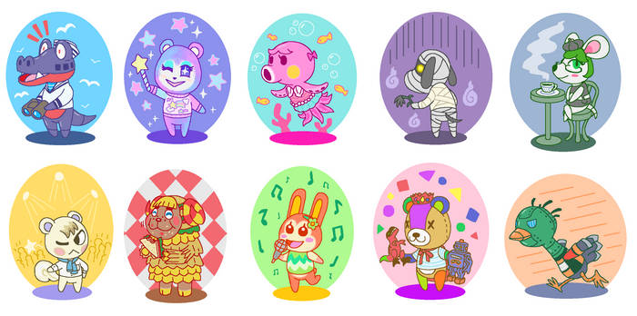 My villagers