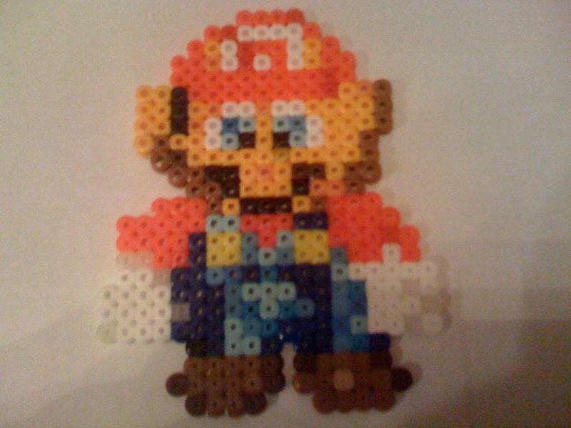 Super Mario RPG Bead Sprite by WickedAwesomeMario81
