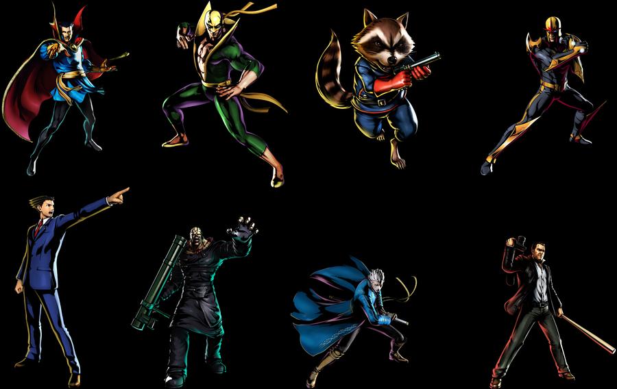 Ultimate Marvel Vs Capcom 3 by WickedAwesomeMario81