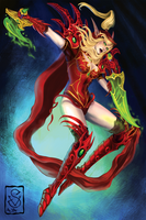 Valeera Sanguinar by Copper-Mouflon