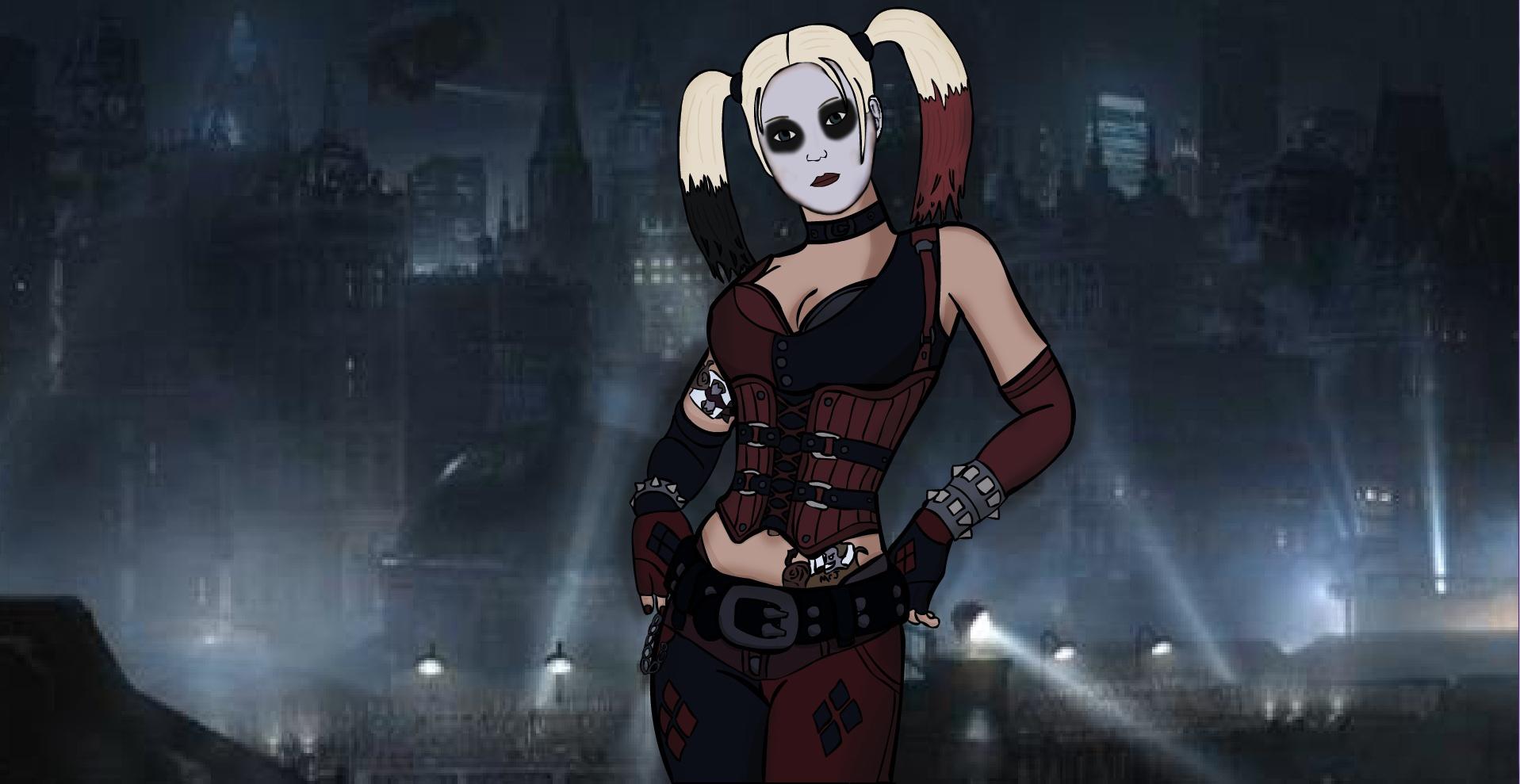 Harley Quinn Arkham City By Dark Link 2391 On Deviantart
