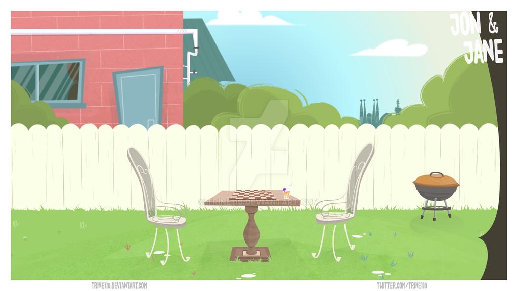 Garden animation background by trine110 on DeviantArt