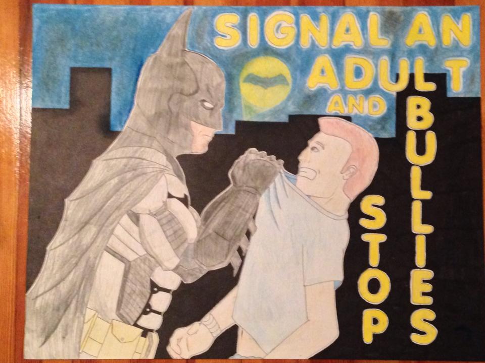Batman Anti Bullying Poster By Karpinskijd On DeviantArt