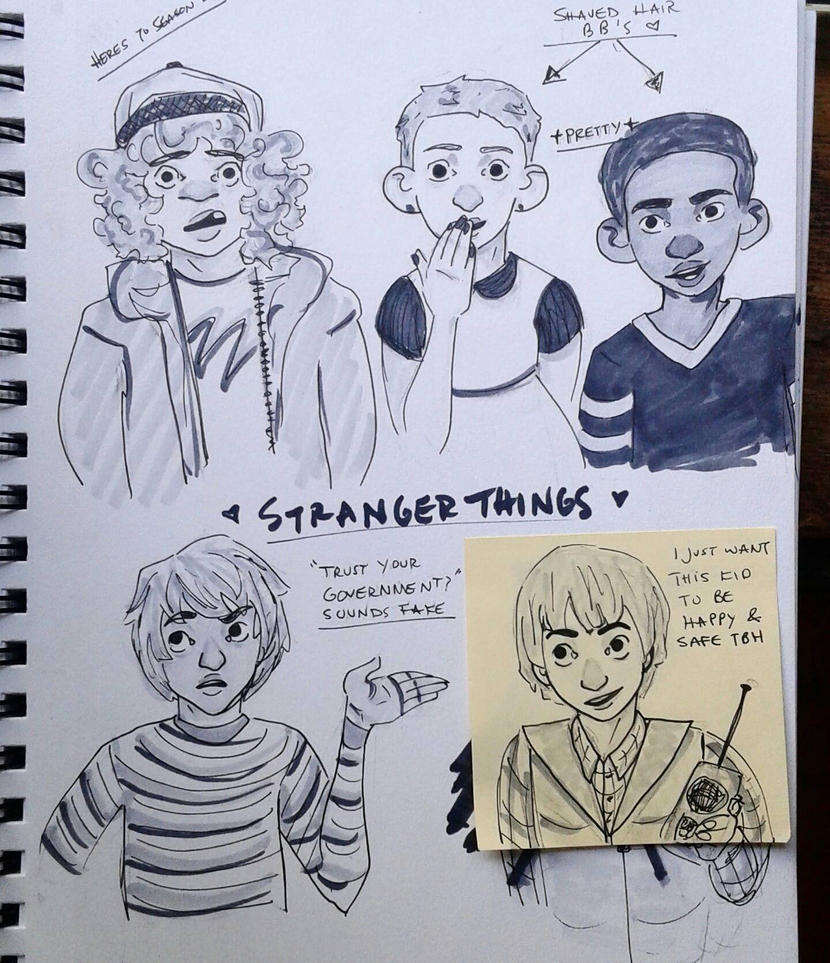 Stranger Things Kids By Grossghostkid On DeviantArt