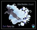 Alolan Ninetails x Zoroark Customfusion
