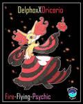 Delphox X Oricorio CustomFusion