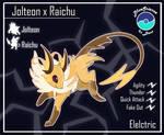 Jolteon X Raichu CustomFusion