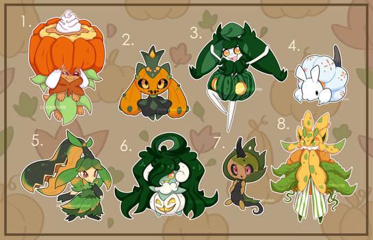 (CLOSED) Collab Adopt Autumn Pumpkins
