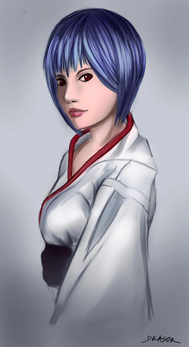 Ai chan - Rei Ayanami by drasor