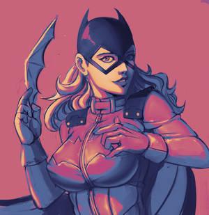 Batgirl - pink
