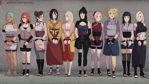 Naruto Girls (Jail)