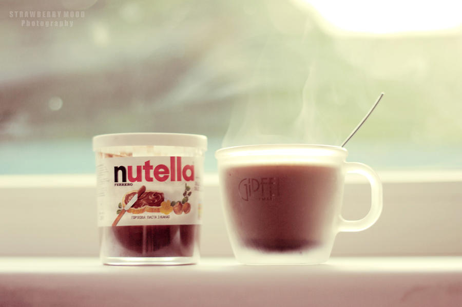 Coffee with Nutella by Strawberry-Mood