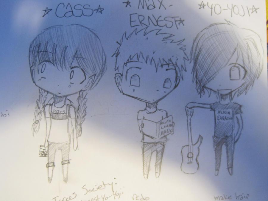 Secret Series Chibis- unedited by Hiromi-Yumi
