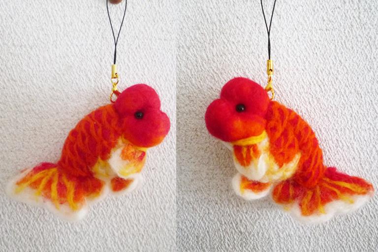 Felt goldfish10 by demetyoubi