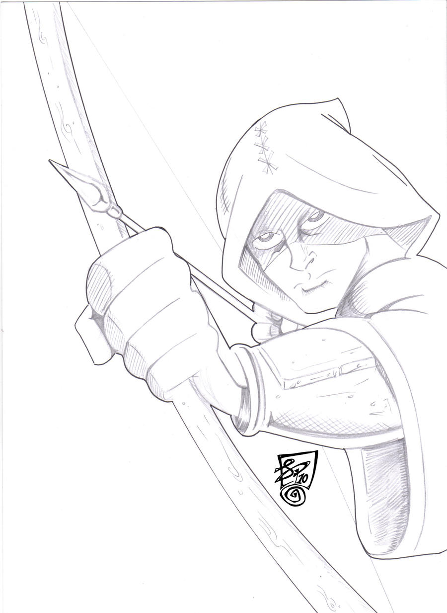 Coloring Pages Of Real Robin Hood