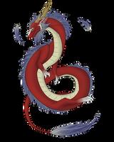 random asian dragon by King-Salomo