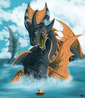 Sea Dragon by King-Salomo