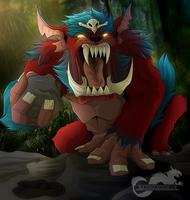 Mega Gnar by King-Salomo