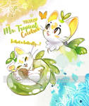 Tyrdrop Mr Tropical Cocotree OPEN SET PRICE by kpj11adopts
