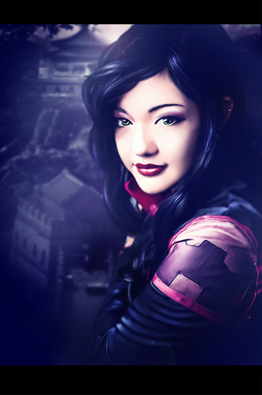 Asami Sato - The Legend of Korra by eerilyfair