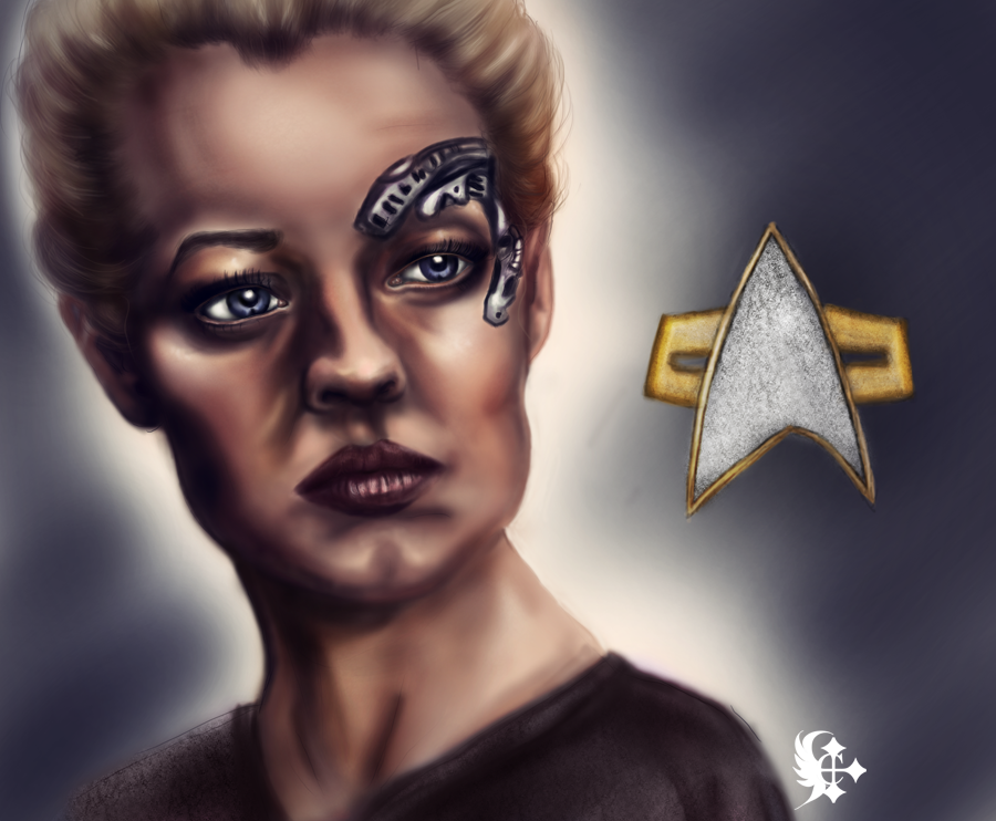 Seven of Nine by eerilyfair