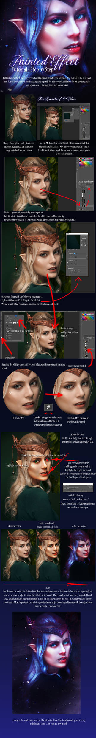 Painted Effect Tutorial