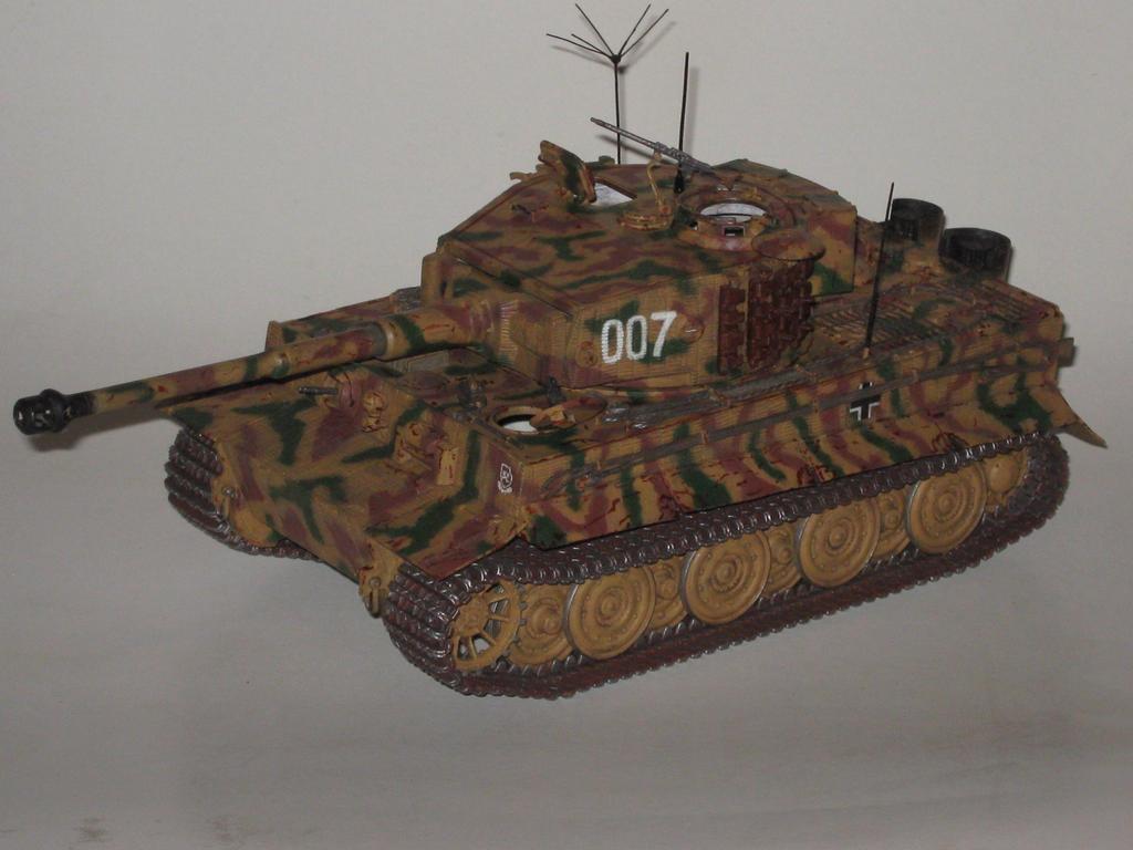 Wittmann's Last Tiger by LacheV