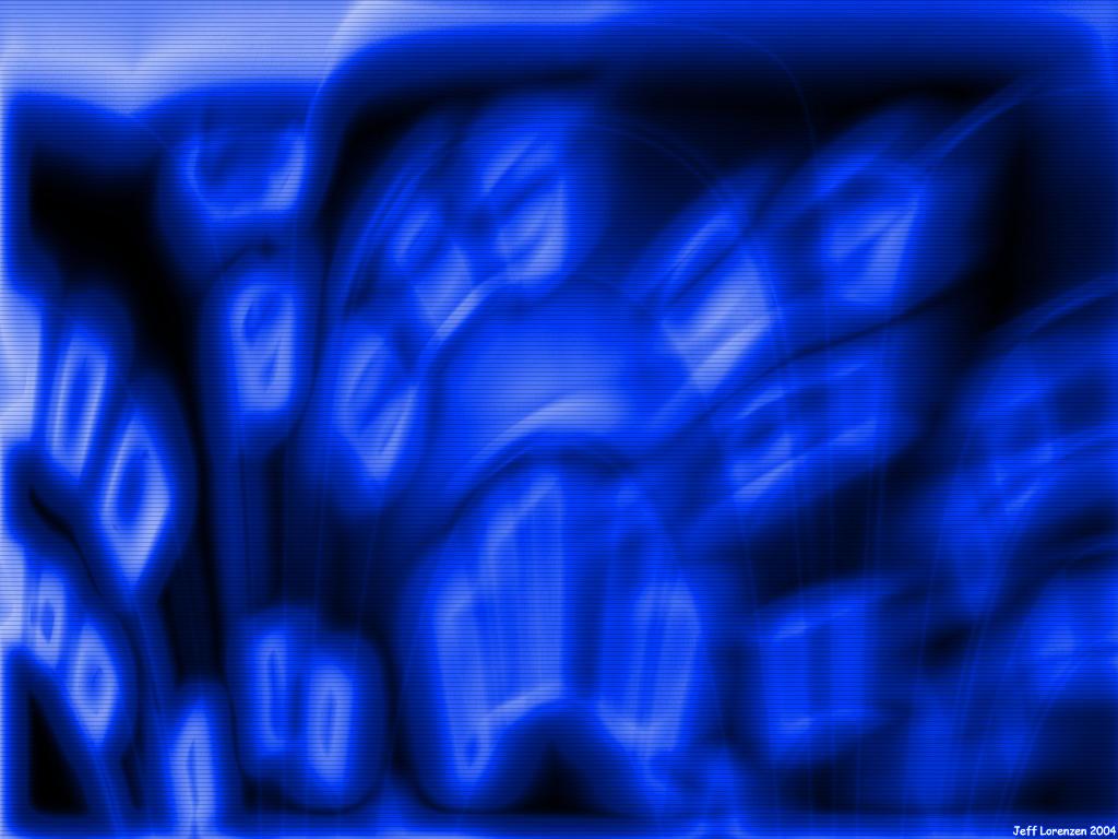 Blue by cgi