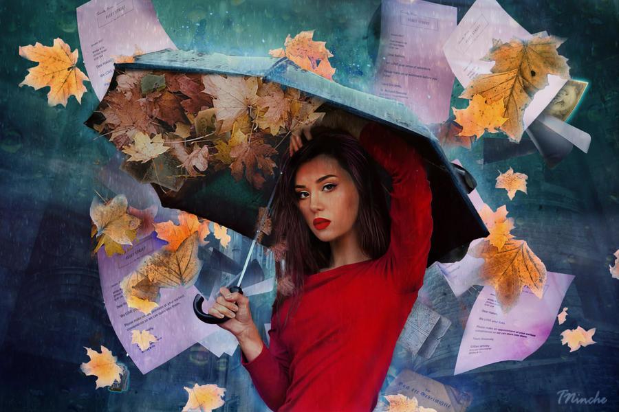 Windy day by TiNcHe-NiNcHe