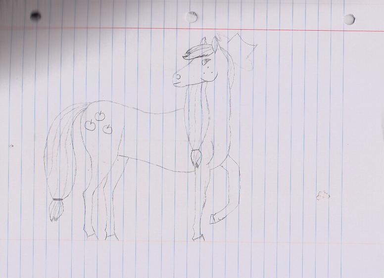 Horse AppleJack 001 by DaringTiger