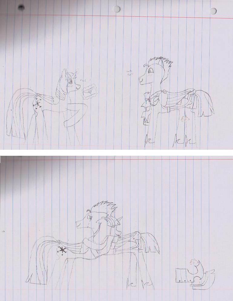 Twilight and Flash by DaringTiger