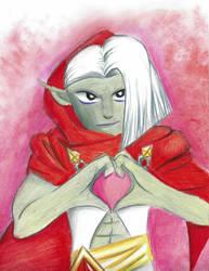 Ghirahim: Heart by Notori-Notori