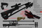 W20-M 14.5 mm Anti-Material Sniper Rifle
