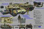 Pamerian Main Battle Tank: 'Eithelfeld' Rev.A