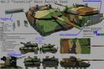 Pamerian Main Battle Tank: 'Dunehild'