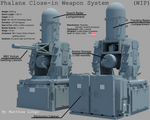 Phalanx 20mm Close-in Weapon System (CIWS)