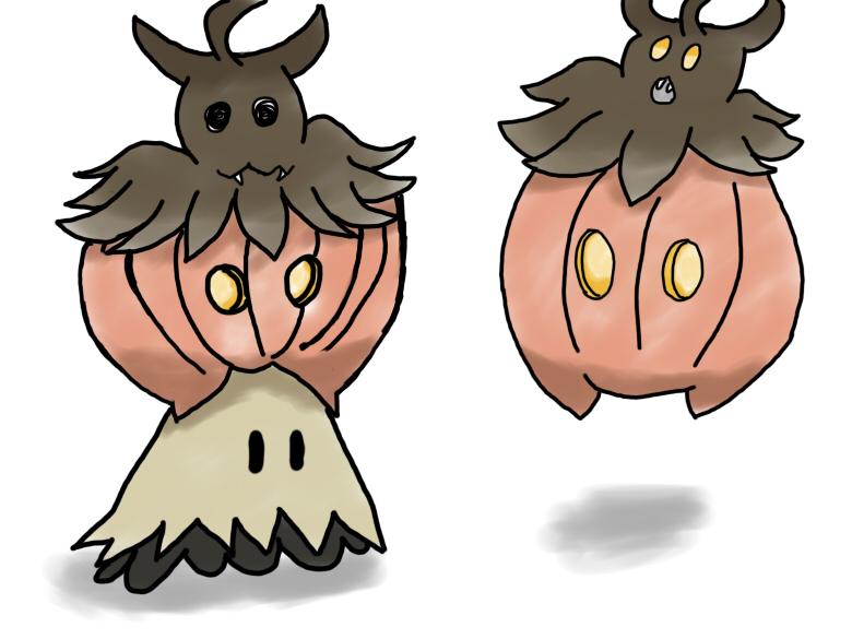 Poke-pumpkin october by magic-shield-manga