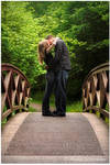 Kissing on the Bridge